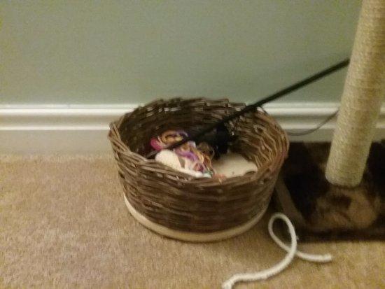 Craignure, UK: My Current toy basket