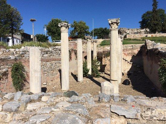 The Basilica of Saint John: Pillars