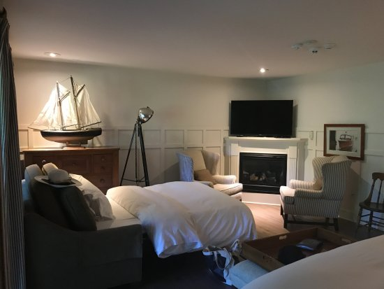 Bayfield, Kanada: Pull-out Couch in sitting area