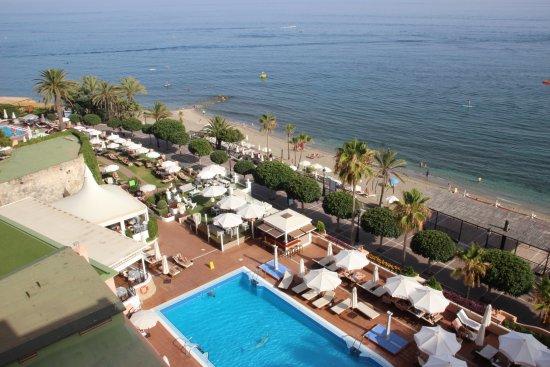 hotel fuerte marbella seitlicher meerblick mit