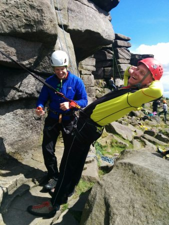 Peak District National Park, UK: Can you trust your belay?!