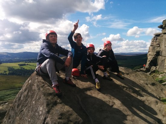 Peak District National Park, UK: The kids critique the routes