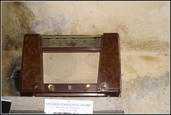 Valloire, فرنسا: vieux transistor