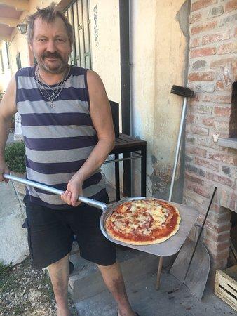 Il Grillo Parlante : Der Pizza-Ofen von Gilbert