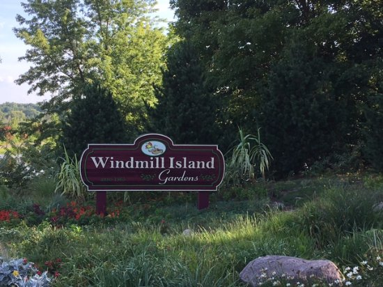 Entrance To Windmill Island Gardens Picture Of Windmill Island Gardens Holland Tripadvisor