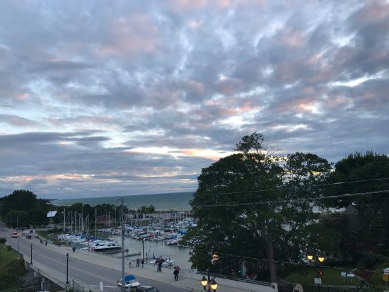 View from Balcony, Inn at The Harbour, Kincardine, Ontario