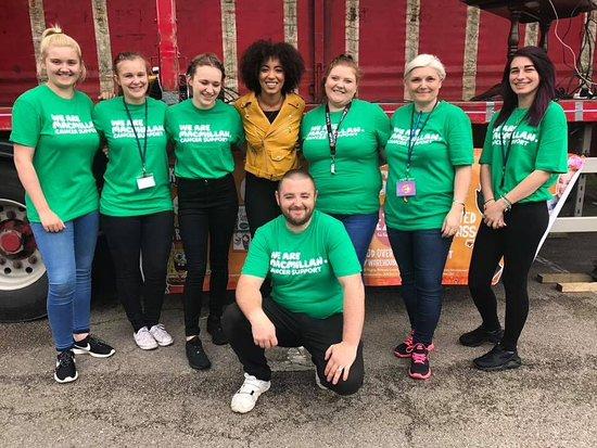 Market Drayton, UK: Great team work