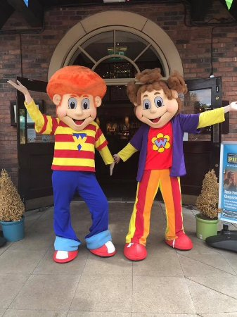 Market Drayton, UK: Wendy and Wesley