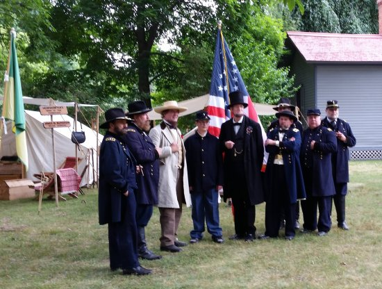 Mentor, OH: Presidents Lincoln and Davis along with Lincoln's Generals.
