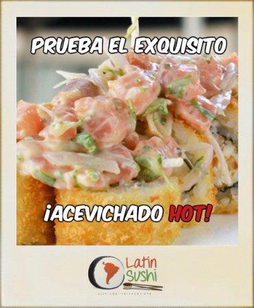 Santiago Metropolitan Region, Chile: Exquisito roll Acevichado Hot