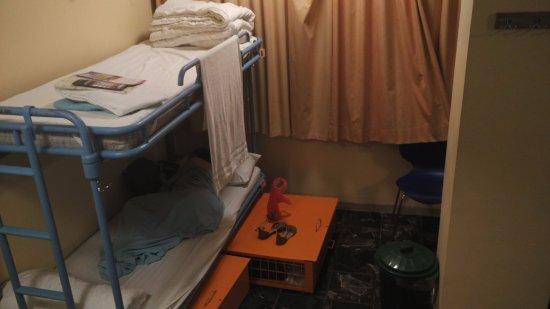 Abraham Hostel Jerusalem : Mixed 10 bed dorm - bunk bed