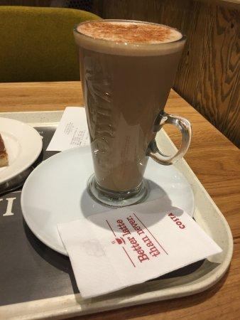 Blandford Forum, UK: Hot Chia tea.