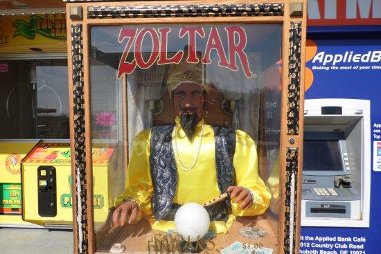 Rehoboth Beach Boardwalk: Zoltar!