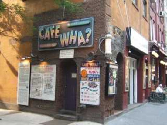 Rock Junket: Legendary Cafe Wha? Greenwich Village