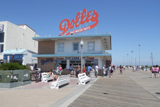 Rehoboth Beach Boardwalk: Famous!