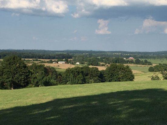 The Lodges at Gettysburg: Beautiful views from everywhere...