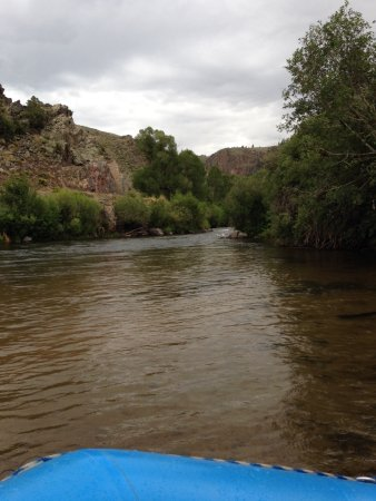 Almont, CO: The Gunnison River, July 2017, running calm.