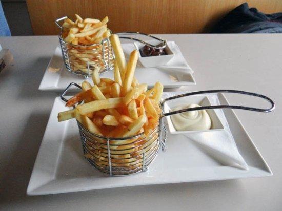 Den Oever, เนเธอร์แลนด์: the fries