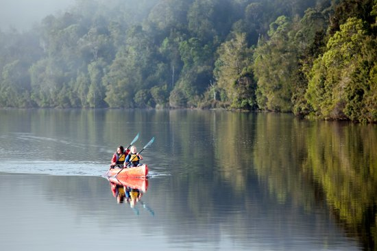 Corinna, Australia: Kayak along the Pieman River