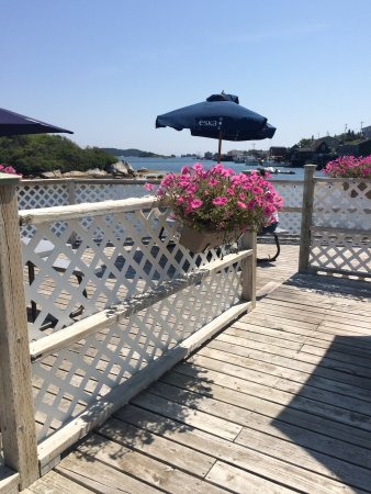 West Dover, Canada: Deck