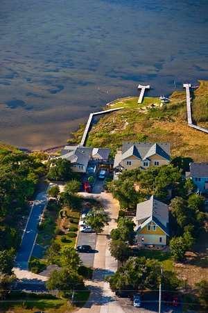 The Inn on Pamlico Sound: Ariel view