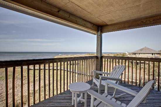 The Inn on Pamlico Sound: Deck off of Magnolia