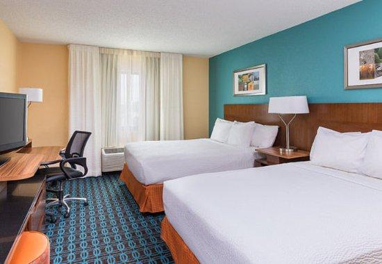 Galesburg, Ιλινόις: Queen/Queen Guest Room