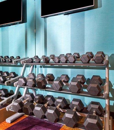 Fairfield Inn Pensacola I-10: Fitness Center - Free Weights