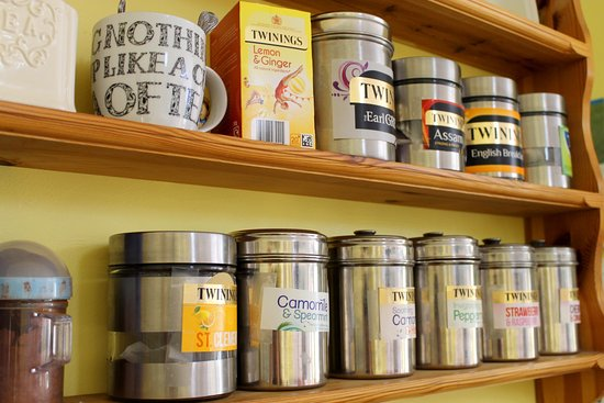 Kidwelly, UK: Our great range of speciality teas.