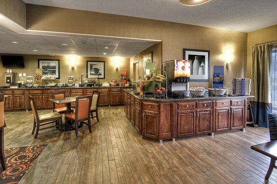 Jonesville, Северная Каролина: Breakfast Area