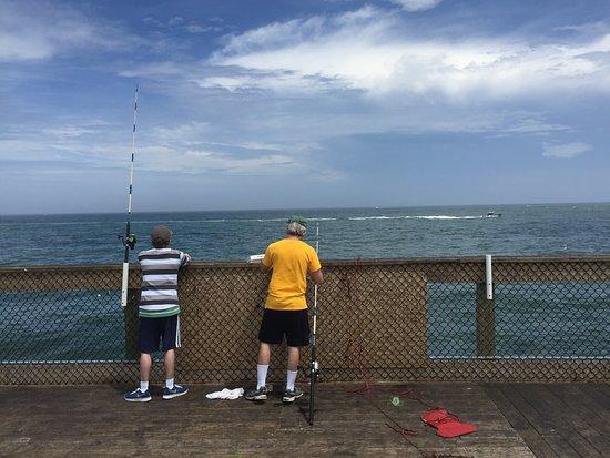 Oceanic fishing pier picture of oceanic fishing pier for Ocean city md fishing pier