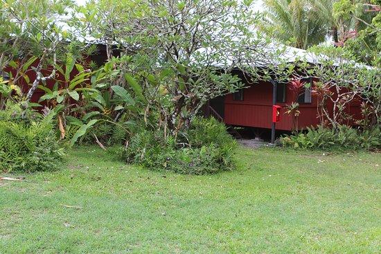 Kalani : Outside my bungalow