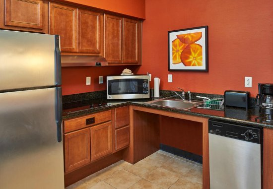 Abilene, TX: Accessible Suite Kitchen