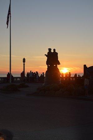 Seaside, OR: Sunset photo