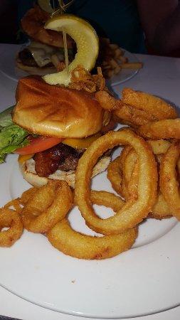 Excellent burgers and milkshakes at Minden 50's Diner today!