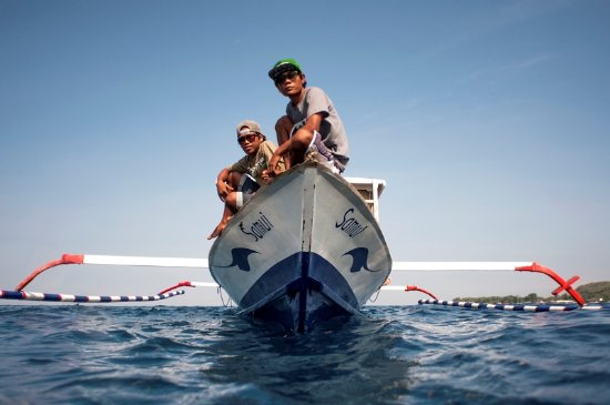 Gili Air, Endonezya: Travel in style to the dive sites on our traditional wooden boats