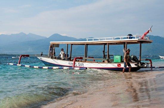 Gili Air, Endonezya: Manta Dive Boat
