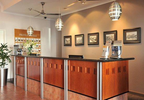 Midrand, South Africa: Reception Desk