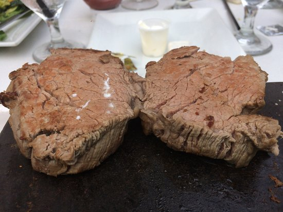 Ridley Park, PA: Filet Mignon on 700 degree cooking stone