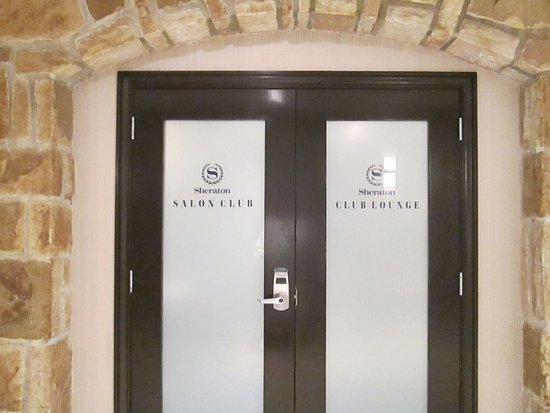 Dorval, Canada: Entrance to VIP Club Lounge