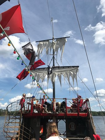 Eagle River, WI: Pirate Ship