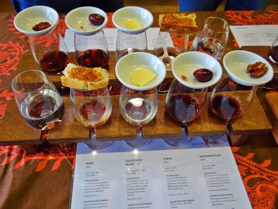 Onetangi, نيوزيلندا: Tasting