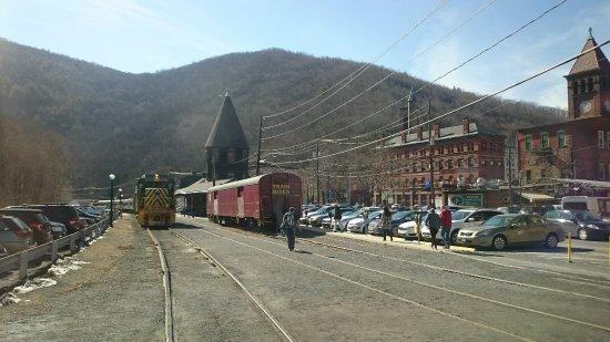 Jim Thorpe, PA: the railroad