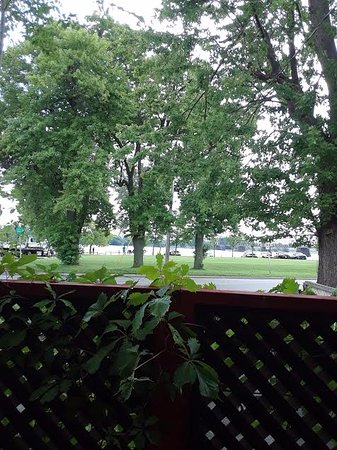 Fort Erie, Canada: View from Outdoor patio