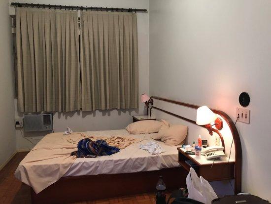 Pirassununga, SP: Quarto bacana, ar, janela grande bacana