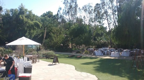 Leo Carrillo Ranch Historic Park: Large Garden And Patio For A Wedding  Reception.