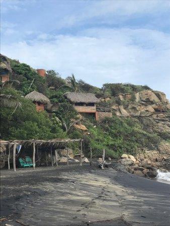 Mazunte, Meksika: Es increíble y mágico!!! Me quedé en una cabaña recomendada por airbnb que sale en las fotos y é