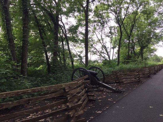 Murfreesboro, TN: Stone River National Battlefield trail
