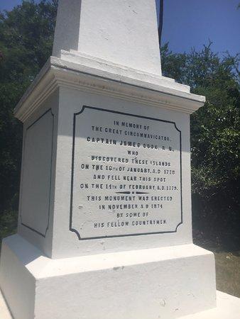 Capt. Cook Monument, Kealakekua