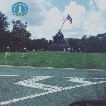 Herndon, Wirginia: Iwo Jima memorial D.C